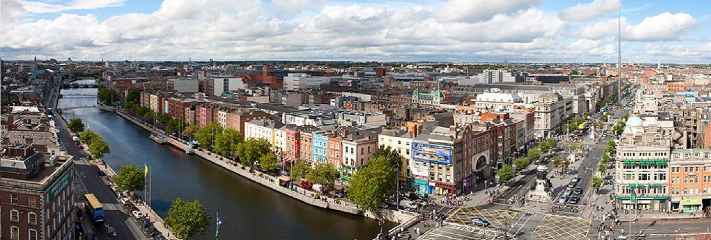 Southern Ireland Cityscape